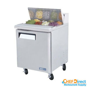Turbo Air Mst 28 n 28 Single Door Standard Top Sandwich Prep Table