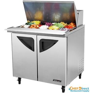 Turbo Air Tst 36sd 15 n6 36 Double Door Mega Top Sandwich Prep Table