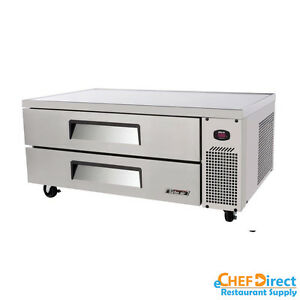 Turbo Air Tcbe 52sdr n Super Deluxe 52 Double Drawer Chef Base