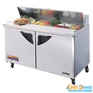 Turbo Air Tst 60sd n 60 Double Door Standard Top Sandwich Prep Table