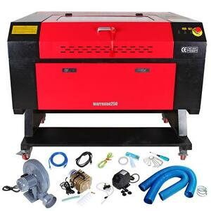 60w Co2 Usb Laser Engraving Cutting Machine Engraver Cutter Woodworking Craft