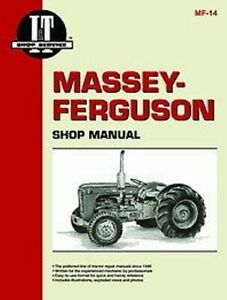 Massey Ferguson I t Shop Service Manual T035 f40 mh50