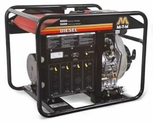 Generator 6000 Watts 5000 Watts 9 2 Hp Yamar Diesel W Electric Start
