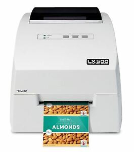 Lx500c Color Label Printer With Cutter From Primera Technology 74275 New