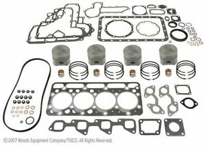 Kubota V2203e Engine Overhaul Kit 4 Cyl Diesel Bobcat 753 753h 753l 7753