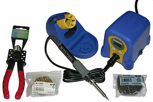 Hakko Fx888d 23by Digital Soldering Station Includes Iron Tip Vt06 Cutter