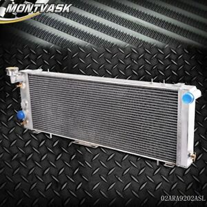 60mm Aluminum Radiator For Jeep Cherokee Xj Wagoneer 2 5l 4 0l 1991 2001