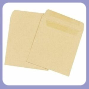 1000 Plain Manilla Small Brown School Dinner Money Wage Pay Envelopes 108x102mm