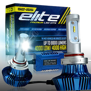 9012 Hir2 Elite Series Led Headlamp Headlight Bulb Upgrade 6000k Better Than Hid