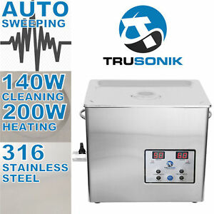 New Stainless Steel 5l Liter Industry Heated Ultrasonic Cleaner Heater Timer G
