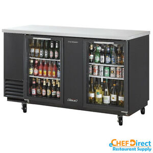 Turbo Air Tbb 3sg n 69 Double Glass Door Back Bar Cooler