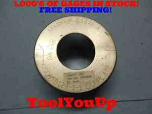 Master 1 1370 Class X Smooth Plain Bore Ring Gage 1 125 012 Oversize Tool