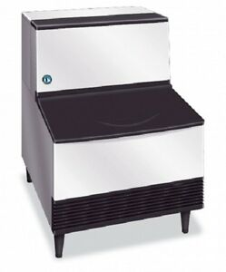 New Hoshizaki Ice Machine Self contained with Bin 201lb Ice Air Cool Km201bah