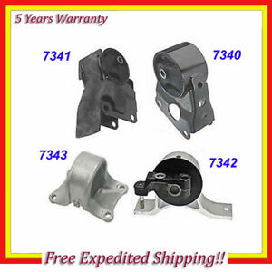 Engine Motor Trans Mount Set 4pcs 2002 2006 Nissan Altima 2 5l For Auto M029