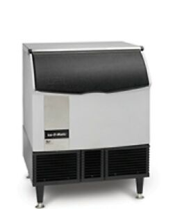 New Ice o matic Ice Machine Self contained Cuber with Bin 356lb Iceu300a