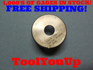 Master 3927 Class X Smooth Plain Bore Ring Gage 3906 0021 Oversize Tools