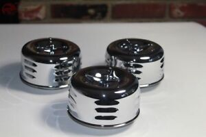 Louvered Bee Hive 1 Barrel Air Cleaners Low Profile Hot Rat Street Rod Truck