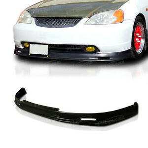 M Spec Style Front Bumper Lip For Honda Civic 2001 2003