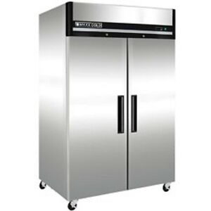 New Maxx Cold 2 Door Reach in Freezer 54 Mxcr49rd Free Shipping