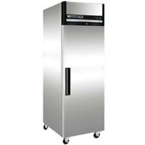 New Maxx Cold Single Door Reach in Freezer 27 Mxcf23fd Free Shipping