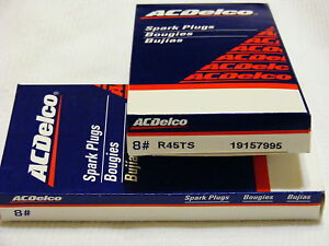 Ac Delco Spark Plugs R45ts Box Set Of 8