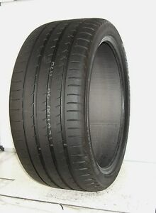 Used Yokohama Tire 295 35r21 Advan Sport V105 107y Extra Load 2953521