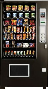 Glass Front Snack Vending Machines 5 Wide Brand New Ams made In America