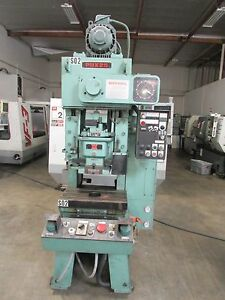 1985 Wasino Model Pux25 25 ton Punch Press