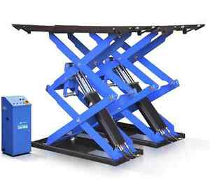 Super thin Scissor Lift Auto Shop Dealer 6 600 Lbs Car Lift