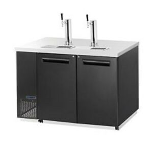 New Maxx Cold Back Bar Double Keg Cooler W Tower Mcbd60 2b Free Shipping
