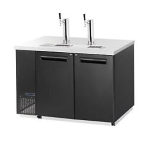 New Maxx Cold Back Bar Double Wide Keg Cooler W Tower Mcbd70 2b Free Shipping