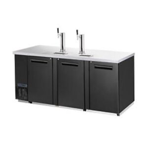 New Maxx Cold Back Bar Triple Keg Cooler W Towers Mcbd90 3b Free Shipping