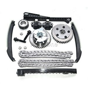 For 04 11 Ford F 150 250 Lincoln 5 4 Triton 3 Valve Timing Chain Kit Cam Phaser