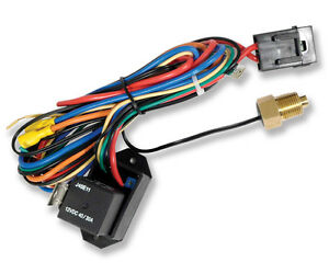 New Adjustable Electric Fan Controller Kit Thread In Probe With Relay