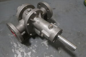 Pulsafeeder Eco Series G12uctttt Stainless ryton Gear Pump New Surplus