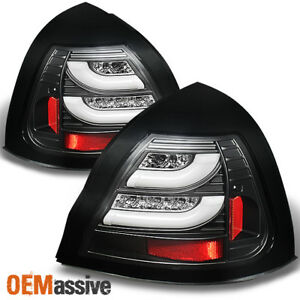 Fits Black 04 08 Pontiac Grand Prix Philips Lumileds Led Perform Tail Lights Set