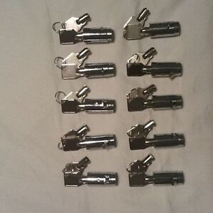 Vending Machine Locks Keys New All Keyed Alike 10 Locks coke Pepsi Snack