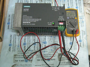 Siemens Sitop Power 20 6ep1436 1sh01 Power Supply 24vdc 20amps 3x480vac tested