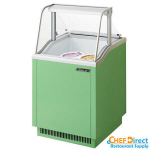 Turbo Air Tidc 26g n Green Ice Cream Dipping Cabinet