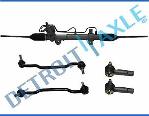 5pc Rack And Pinion Outer Tie Rod Sway Bar Link Kit For Nissan Maxima Altima