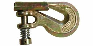 G70 5 16 Clevis Grab Hook With Latch 20 Pcs