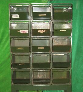 15 Stackbin 4 Stack Rack Stacking Hardware Parts Steel Storage Bin Container