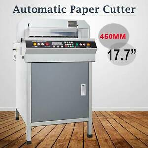 Electric 450mm 17 7 Automatic Paper Cutter Cutting Machine