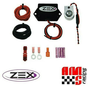 Zex Machine Gun Rapid Fire Nitrous Oxide Purge Kit Module W Red Led Light