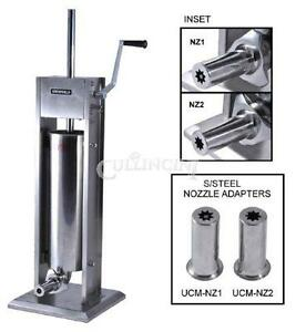 Uniworld Churro Maker Machine Deluxe 15 Lb Two Nozzles Ucm dl7