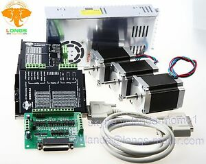 Us Free Shipping Nema23 Stepper Motor 270oz in 1 9nm 76mm 3a Dm542a Cnc Router