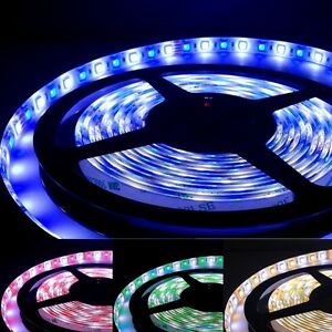 16 4ft 5050 Rgb white Flexible Led Strip Lights Ip65 Epsitar Smd 300leds