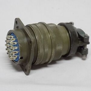 Amphenol 26 Pin Connector Assembly 97 3102a 28 12p And 97 3106a 28 12s Panel Mnt