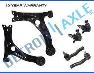 Front Lower Control Arm Ball Joint Tierods For 2000 2001 2002 2003 2005 Celica