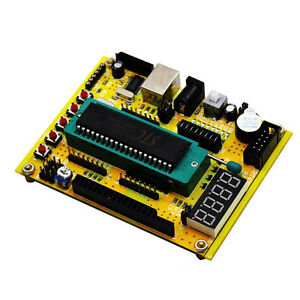 10pcs 51 avr Microcontroller Mini System Usb Download Program Development Board